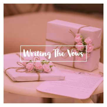 Writing The Vows