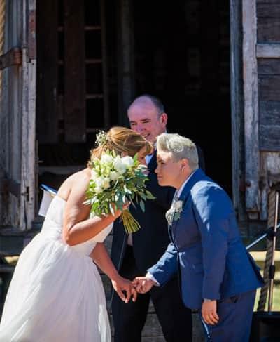 lesbian wedding melbourne