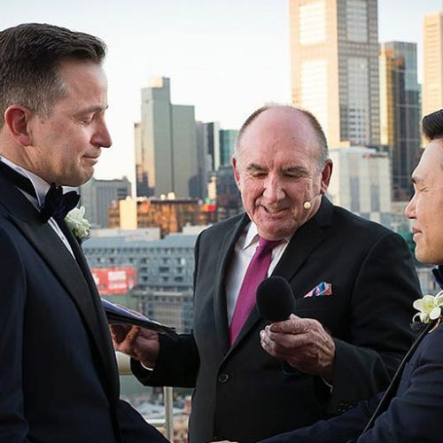 gay wedding ceremony in melbourne