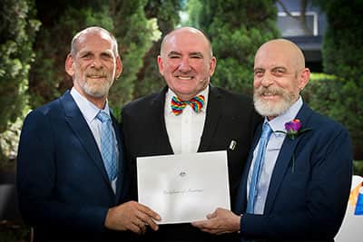 gay wedding certificate melbourne