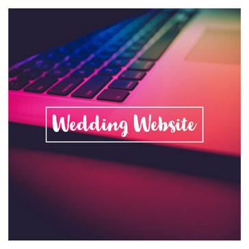 wedding website