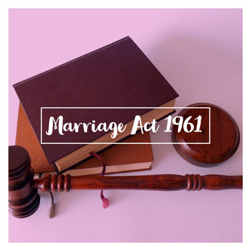 Marriage Act 1961